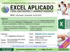 Curso Excel Contadores y Administradores